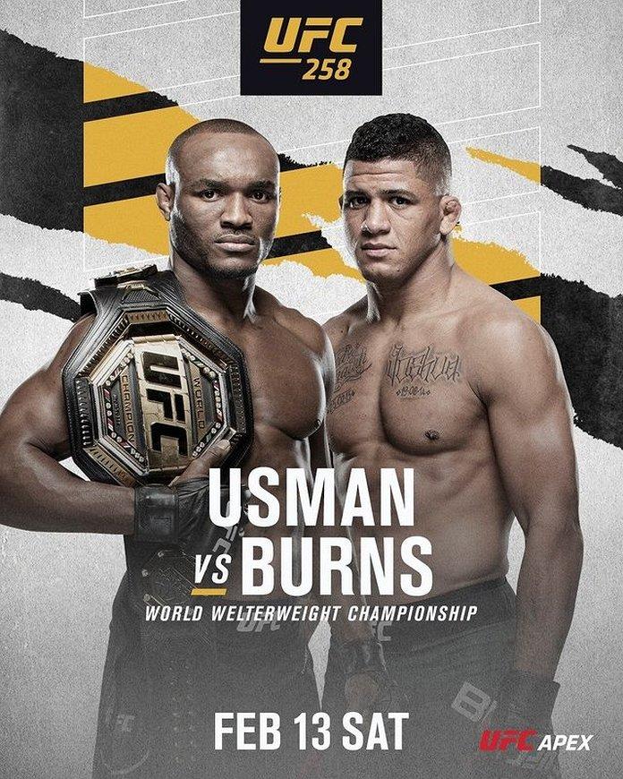 UFC 258 bonuses payout poster