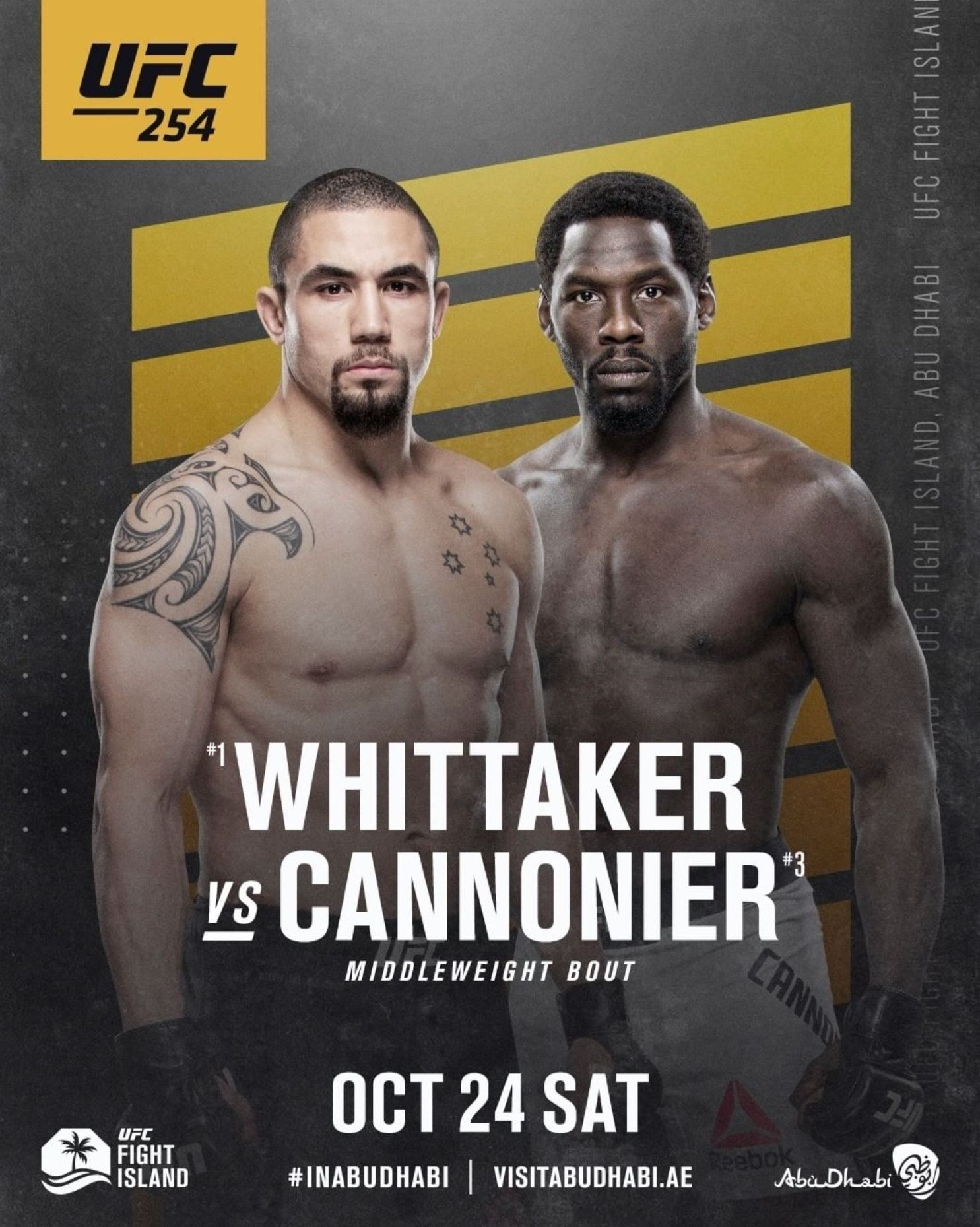 Robert Whittaker vs. Jared Cannonier fight preview