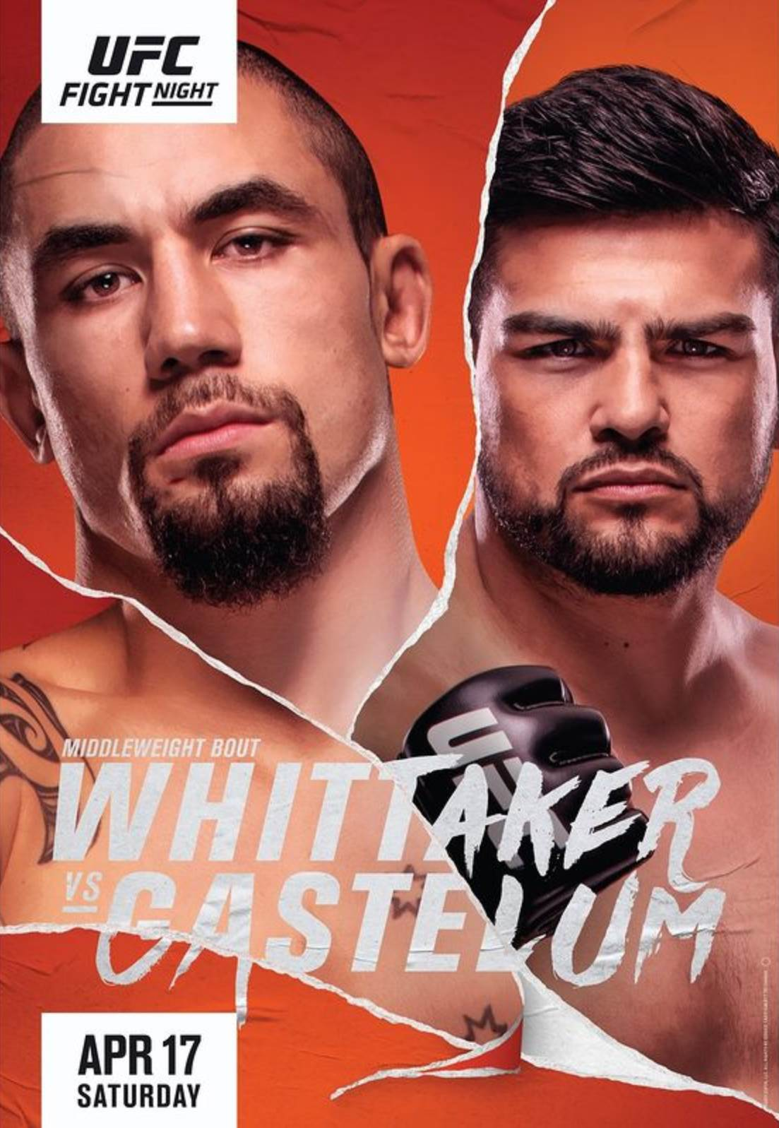 UFC on ESPN 22 results poster