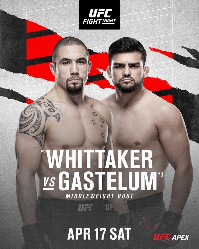 UFC on ESPN 22 Fight Card Poster