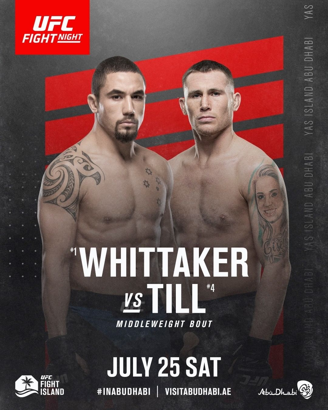 Robert Whittaker vs. Darren Till fight preview